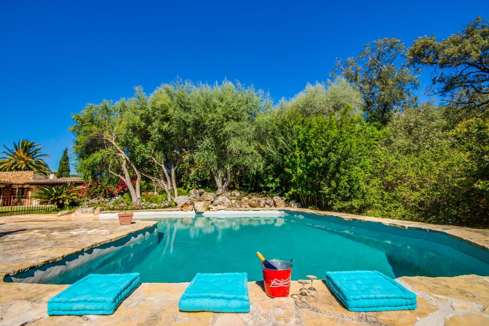 Finca Rural hübsch angelegter Pool im Grünen