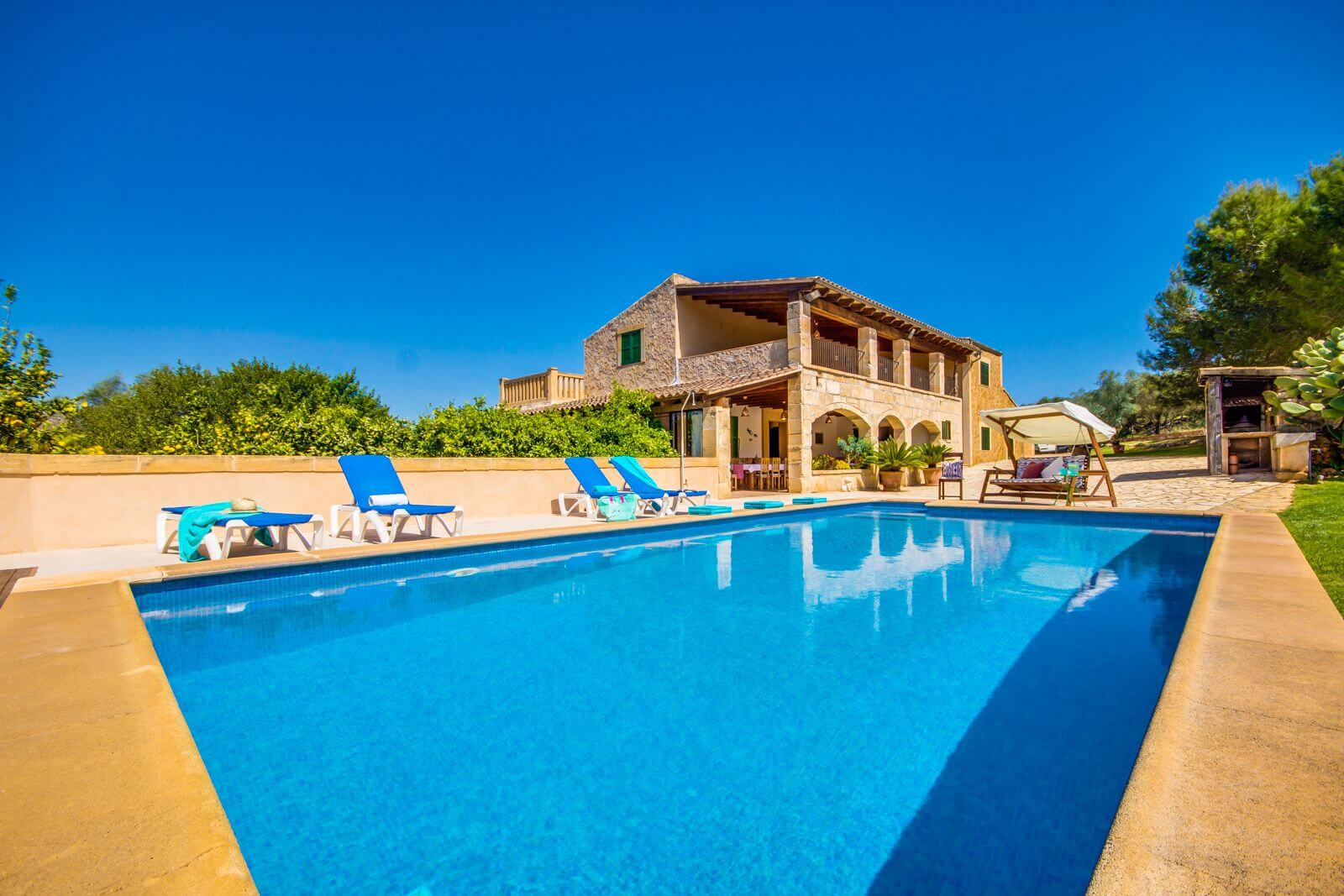 Finca Mallorca - Finca Toni mit beheizbarem Pool