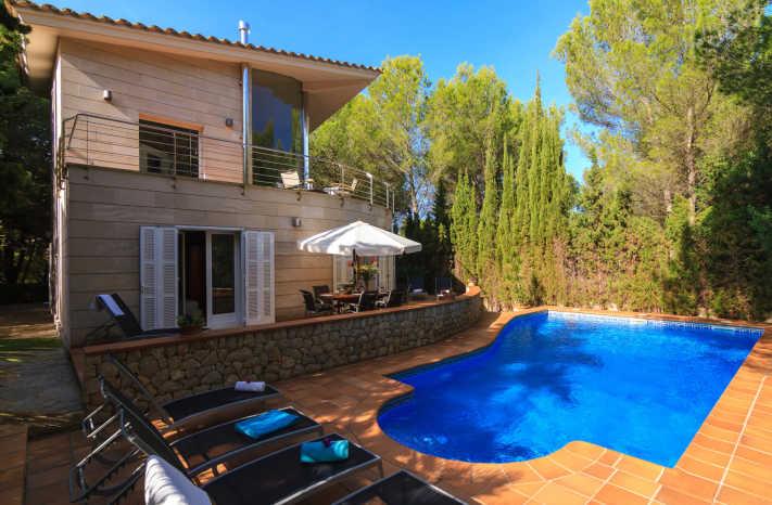 Villa Alcudia Poolliegen