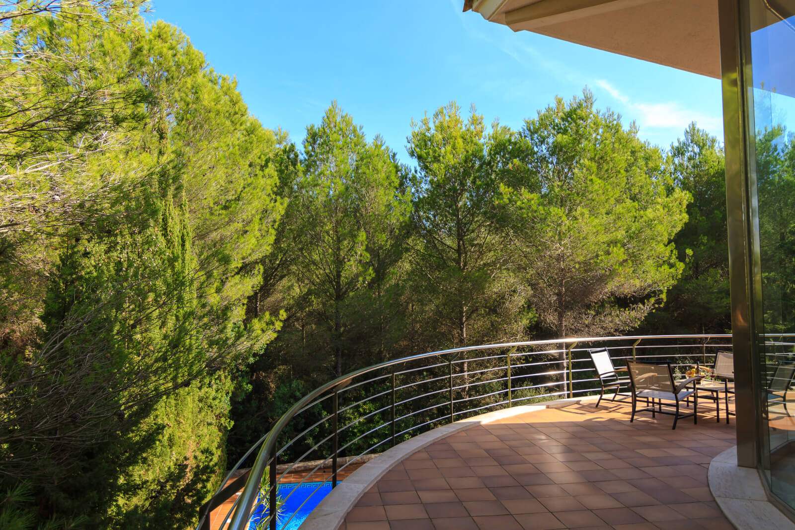 Villa Alcudia Blick in die Natur