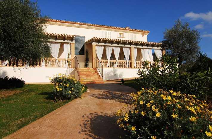 Blick auf Villa Tortuga Mallorca