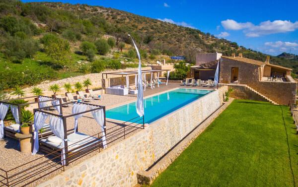Finca Alegria - ideal für Ihre Hochzeit auf Mallorca
