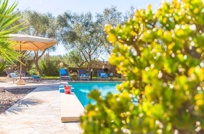Finca Casimiro Pool Natur