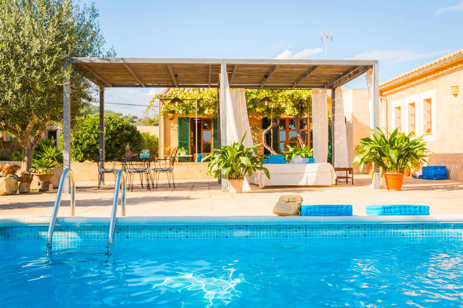 Finca Eugenia Lounge am Pool