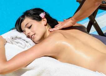 Massage auf der Finca